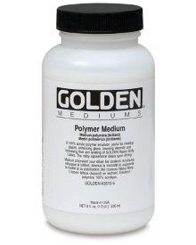 Golden Polymer Medium (Gloss) - 8 oz