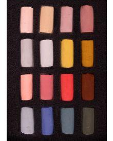 Unison Pastel 16 Half Stick Portrait Set