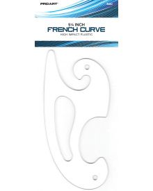 French Curve by Pro Art - 5-1/4 inch (13 cm)
