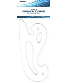 French Curve 7-1/4 inch by Pro Art