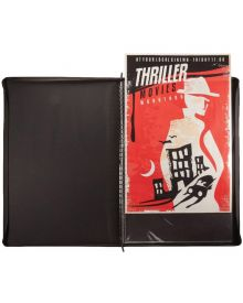 Itoya ProFolio, Poster Binder, Black, 24 x 36 inches