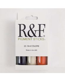R&F Pigment Sticks 3-19ml Colours Trial Set 1