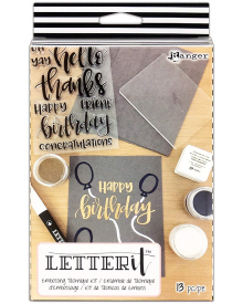 Ranger Letter It Embossing Technique 13 pc. Kit