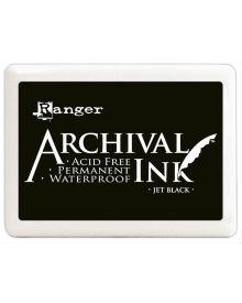 Ranger Archival Ink Pad #3 Jumbo Jet Black