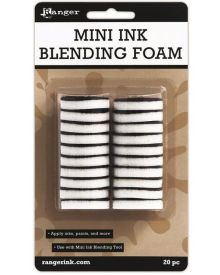 """Ranger Mini Ink Blending 1"""" Foams 20-pc Pack"""
