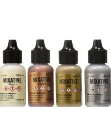 Tim Holtz Alcohol Ink Metallic Mixatives