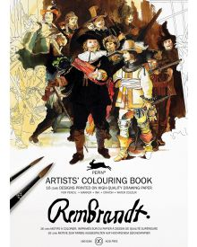 REMBRANDT: Artists' Colouring Books - Paperback