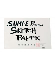 "Yasutomo Rice Paper Sketch Pad, 48 Sheets, 12-1/8"" x 18-1/8"""