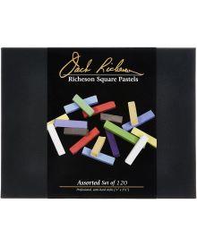 Richeson Semi-hard Square Pastel Sticks of 120