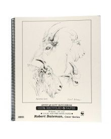 Robert Bateman Artist Quality Sketchbook 14x17in