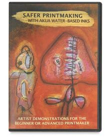 Safer Printmaking with Akua Water-Based Inks