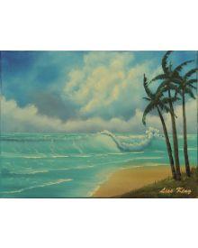 Bob Ross Seascape Workshop May 23, 2020
