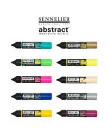 Sennelier Abstract Acrylic 3D Liners 27ml Assortment