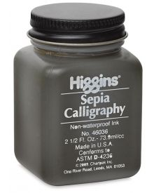 Higgins Sepia Calligraphy Ink 2.5-oz