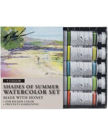 M. Graham Shades of Summer 5-Colour Watercolour Paint Set