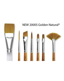 Silver Brush 2000S Golden Natural Brushes