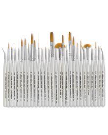 Ultra Mini Golden Taklon Brush 2400S Series