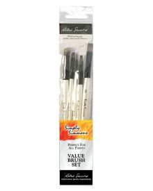 Simply Simmons Creative Instinct Value 5-Brush Set