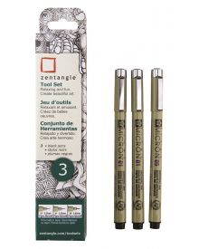 Zentangle Pigma Micron Pen 3pc Set