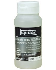 Liquitex Professional Slow-Dri Fluid Retarder Effects Medium - 4oz (118ml) Bottle