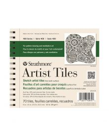 Strathmore 400 Series Artist Tiles, Sketchbook – 70/Sht. 6″ x 6″