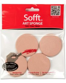 Sofft Tool Round Sponge Pack of 4