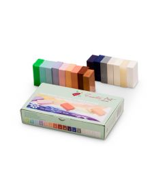 Encaustic Art Soft Pastels Selection of 16 Wax Blocks