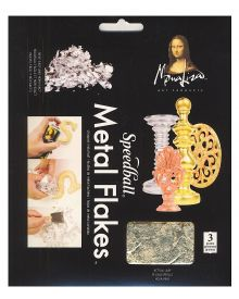 Mona Lisa Gold Metal Flakes 3-Gram Pack