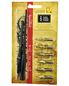 Speedball No5 Artist Calligraphy Pen Set
