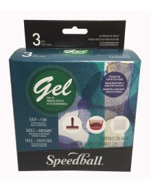 Speedball Gel Printing Plate Tool Kit 3 Piece