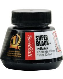 Speedball® Super Black Waterproof India Ink