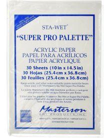 "Sta-Wet Premier Palette Acrylic Film Refill (30 sh.) - 10"" x14.5"""