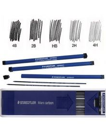 Staedtler Mars Carbon Lead Refills 2 mm