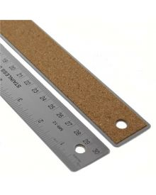 Staedtler Stainless Steel Cork Back Ruler 12 inch
