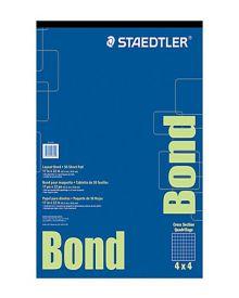 "Steadtler Layout Bond Paper Pad 17"" x 22"""