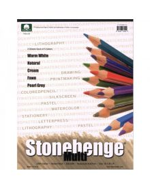 Stonehenge Multi-Colour 100% Coton Pad - (250 gm) 11 x 14 inches