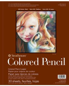 Strathmore 400 Series Coloured Pencil Pads11x14 in