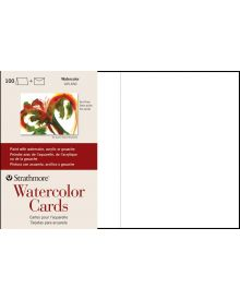 Strathmore Watercolour Cards - 100 Pack Boxed Cards and Envelopes