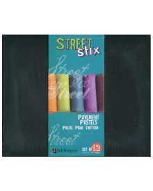 Jack Richeson Street Stix Pavement Pastel Set of 12