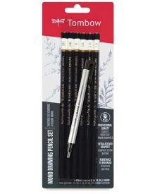 Tombow Mono Drawing Pencil Set & Eraser