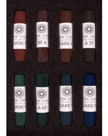 Unison Pastel Dark Set of 8