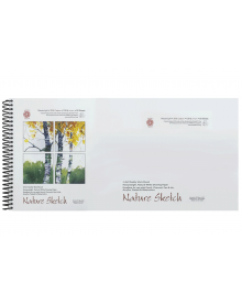 Pentallic Nature Sketch Book 6 x 12 inch