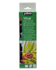 Pébéo Vitrail Discovery Set of 6 x 20 ml Jars