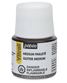 Pébéo Vitrail Glitter Medium 45 ml Jar