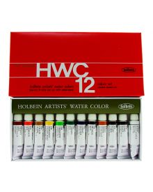 Holbein Artists' Watercolour Set - 12 Tubes
