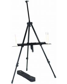 Integra Aluminum Field Easel with case