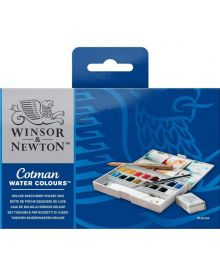 Winsor & Newton Cotman Watercolour Deluxe Sketchers Pocket Box