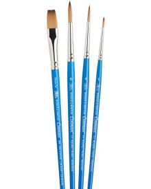 Winsor & Newton Cotman Watercolour Brush - 4pc Set