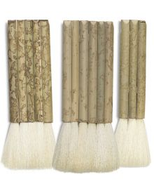Yasutomo Pipe Handle Hake Brushes