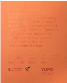 Yupo White/Medium 200gsm 10sheets Pad 27.94x35.56cm (11x14in)